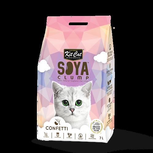 KIT CAT SoyaClump Soybean Litter Confetti 3.18 Kg