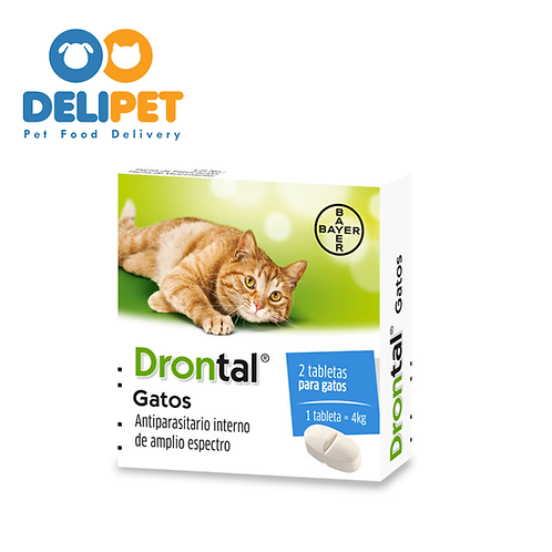 Drontal - Gatos - 2 Tabletas