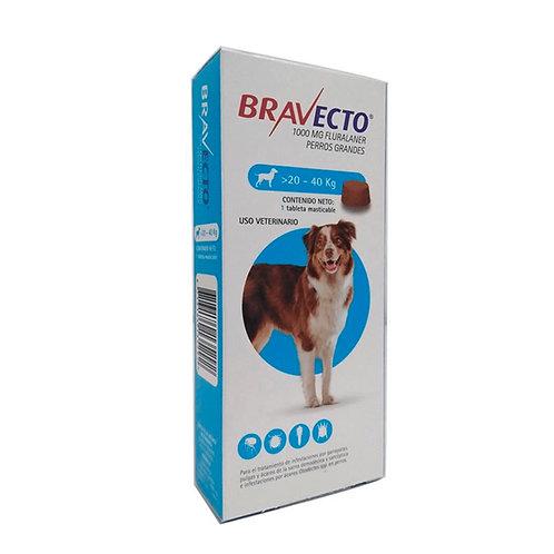 Bravecto - 20 Kg a 40 Kg