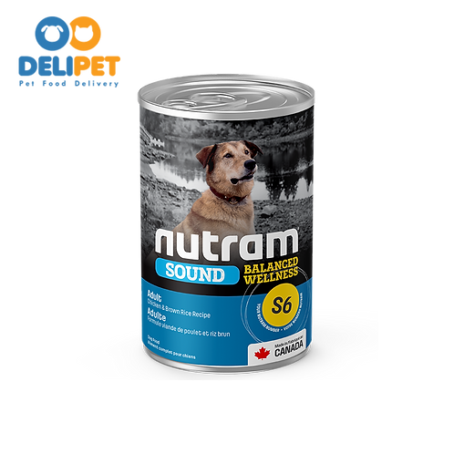 Nutram Lata S6 Sound Adult Dog 369 gr