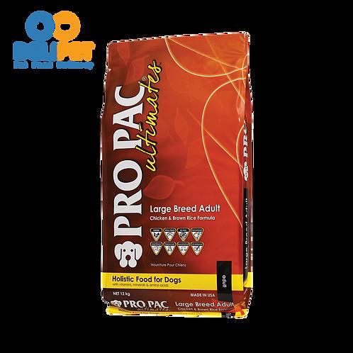 Pro Pac Adulto Raza Grande Pollo y Arroz Integral 12 y 20 Kg