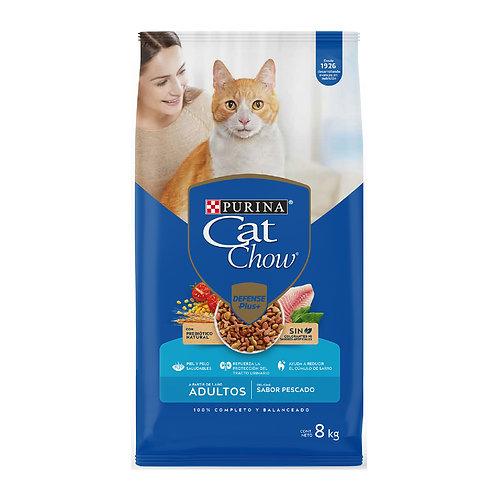 CAT CHOW Adulto de Pescado 8kg