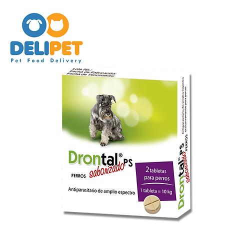 Drontal - Perros Pequeños - 10 Kg - 2 Tabletas