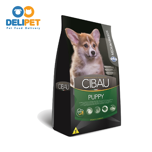 Cibau Puppy Mini (3KG) / Medium (15KG) / Maxi (15KG)