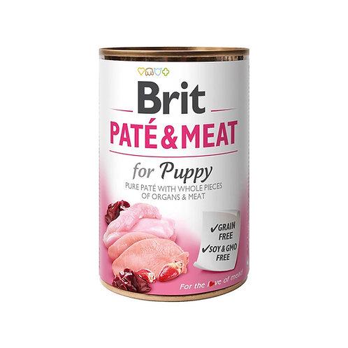 Lata Brit Pate & Meat Puppy 400gr