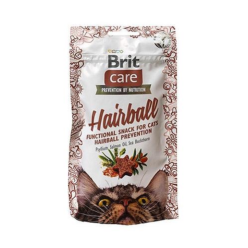 Brit care cat snack hairball 50gr