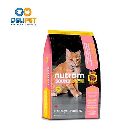 NEW S1 NUTRAM SOUND KITTEN (1.13 KG - 5.4KG)