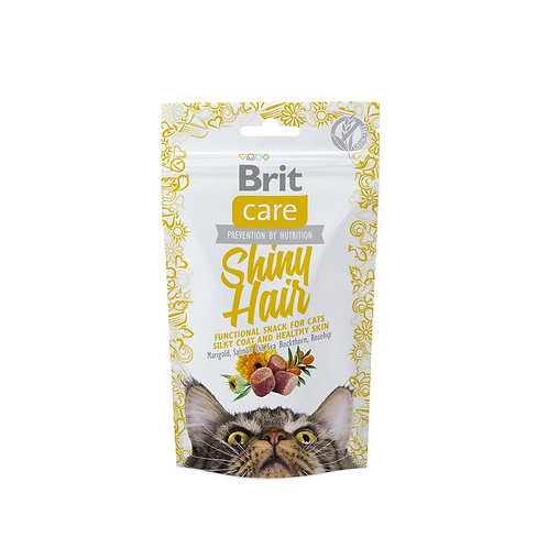 Brit care cat snack shiny hair 50gr