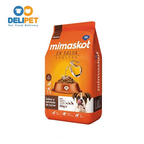 Mimaskot en Salsa - Carne 15 Kg
