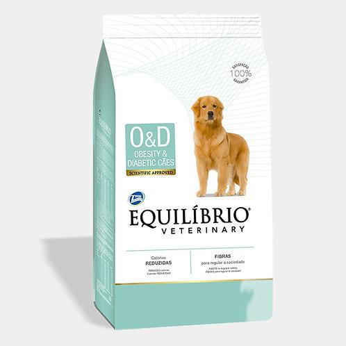 EQUILIBRIO VETERINARY DOG OBESITY & DIABETIC (OD) 7.5 kg
