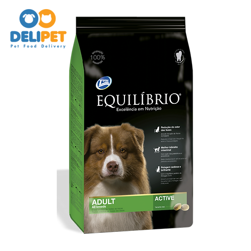 EQUILIBRIO ADULT DOGS  ALL BREEDS 2 y 15+3 Kg