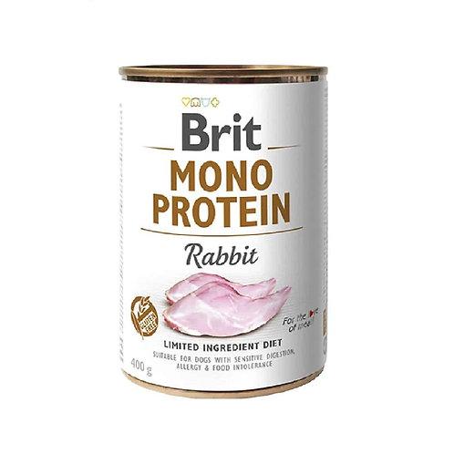 Lata Brit Mono Protein Rabbit 400gr
