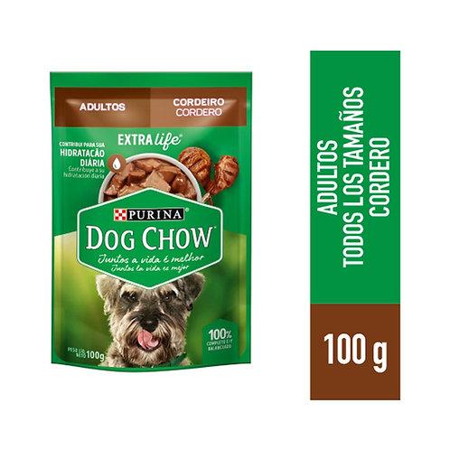 Sachets Dog Chow Picnic De Cordero Trozos Jugosos 15uni X 100gr