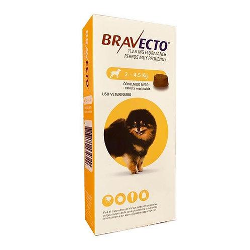 Bravecto 2.5Kg 4.5Kg