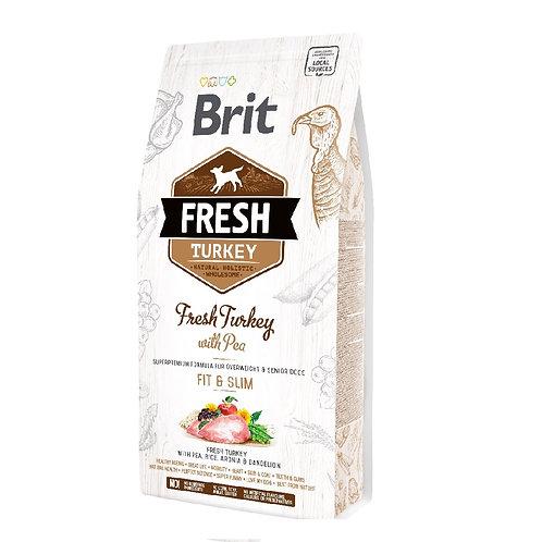 Brit Fresh Turkey With Pea Light Fit & Slim (2.5Kg - 12Kg)