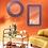 instagram SKDéco skdecoshop skdeco objet de decoration design designer miroir rond purple aubergine dore gold or