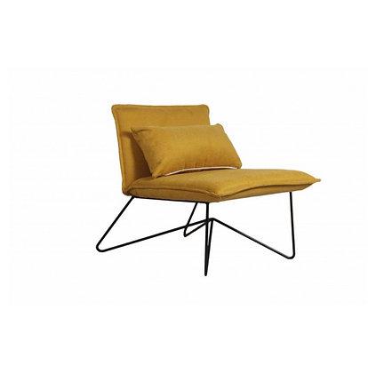 fauteuil tissus jaune assise  couleurs SKDéco skdecoshop