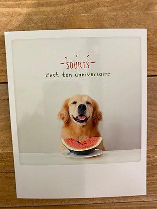 SKDéco skdecoshop skdeco carte postale envoi la poste bonne nouvelle good news insta follower joyeux anniversaire happy birth