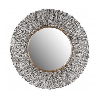 Miroir Doré Brûlé