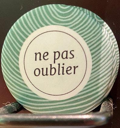 Badge magnetique magnet fun original photo instagram followers SKDéco skdecoshop skdeco don't forget ne pas oublier