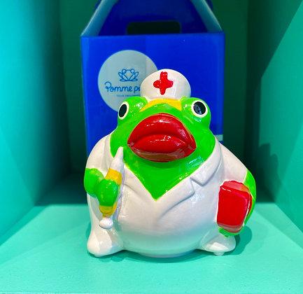 instagram SKDéco skdecoshop skdeco objet de decoration deco design designer tirelire grenouille boite de rangement infirmiere