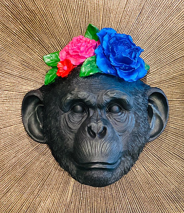 instagram SKDéco skdecoshop skdeco objet de decoration deco design designer masque support singe monkey fleur flower
