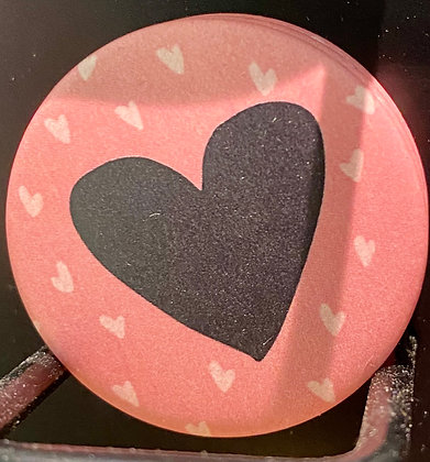 Badge magnetique magnet fun original photo instagram followers SKDéco skdecoshop skdeco coeur heart love amour