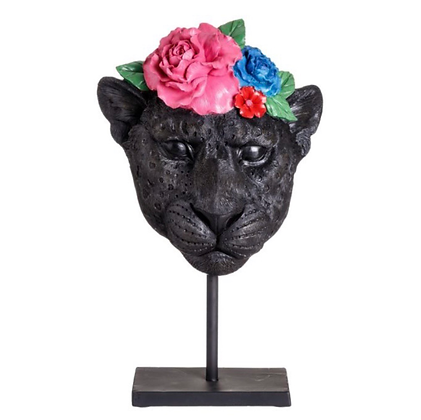 Mask Panther Flower
