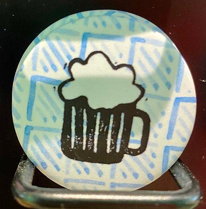 Badge magnetique magnet fun original photo instagram followers SKDéco skdecoshop skdeco biere beer