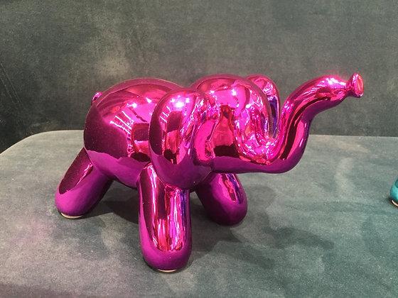 Elephant Balloon Pink TM