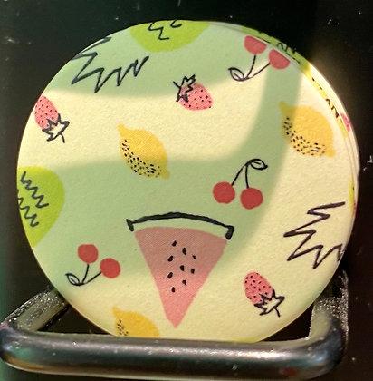 Badge magnetique magnet fun original photo instagram followers SKDéco skdecoshop skdeco fruit