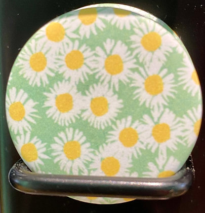 Badge magnetique magnet fun original photo instagram followers SKDéco skdecoshop skdeco fleur flower marguerite paquerette