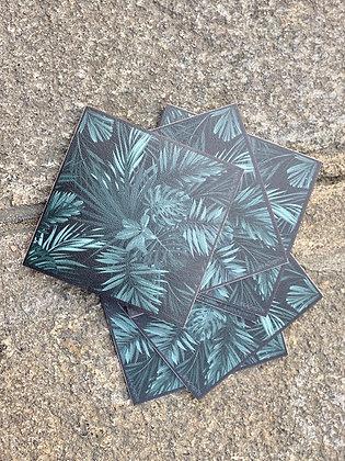 Dessous de verre podevache en vinyle Matériau PVC Finition anti-UV Laver au savon et à l'eau Fabriqué en France
