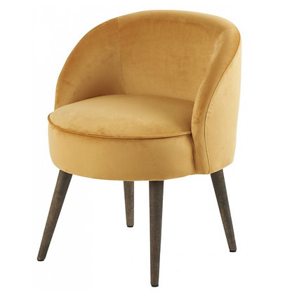 Fauteuil Crapaud Gold