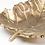 instagram SKDéco skdecoshop skdeco objet deco decoration coupe feuille dore or vide poche objet design designer