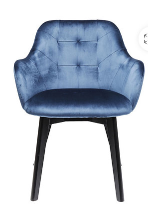 Chaise Accoudoir Lady Blue