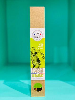 Huile d'Olive Basilic - Fabrication Française