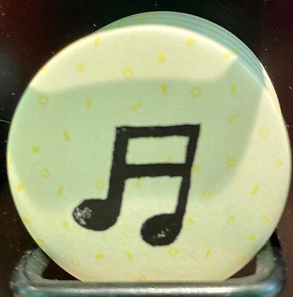 Badge magnetique magnet fun original photo instagram followers SKDéco skdecoshop skdeco note de musique