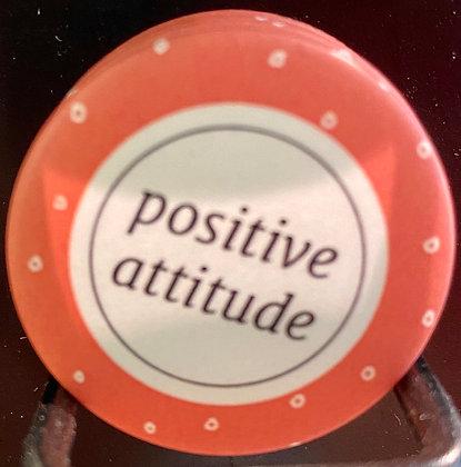 positive attitude Badge magnetique magnet fun original photo instagram followers SKDéco skdecoshop skdeco