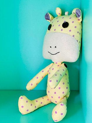 Peluche rigolo rigolote jolie mignonne animal animaux tissus tout doux confort agreable SKDéco skdecoshop skdeco girafe