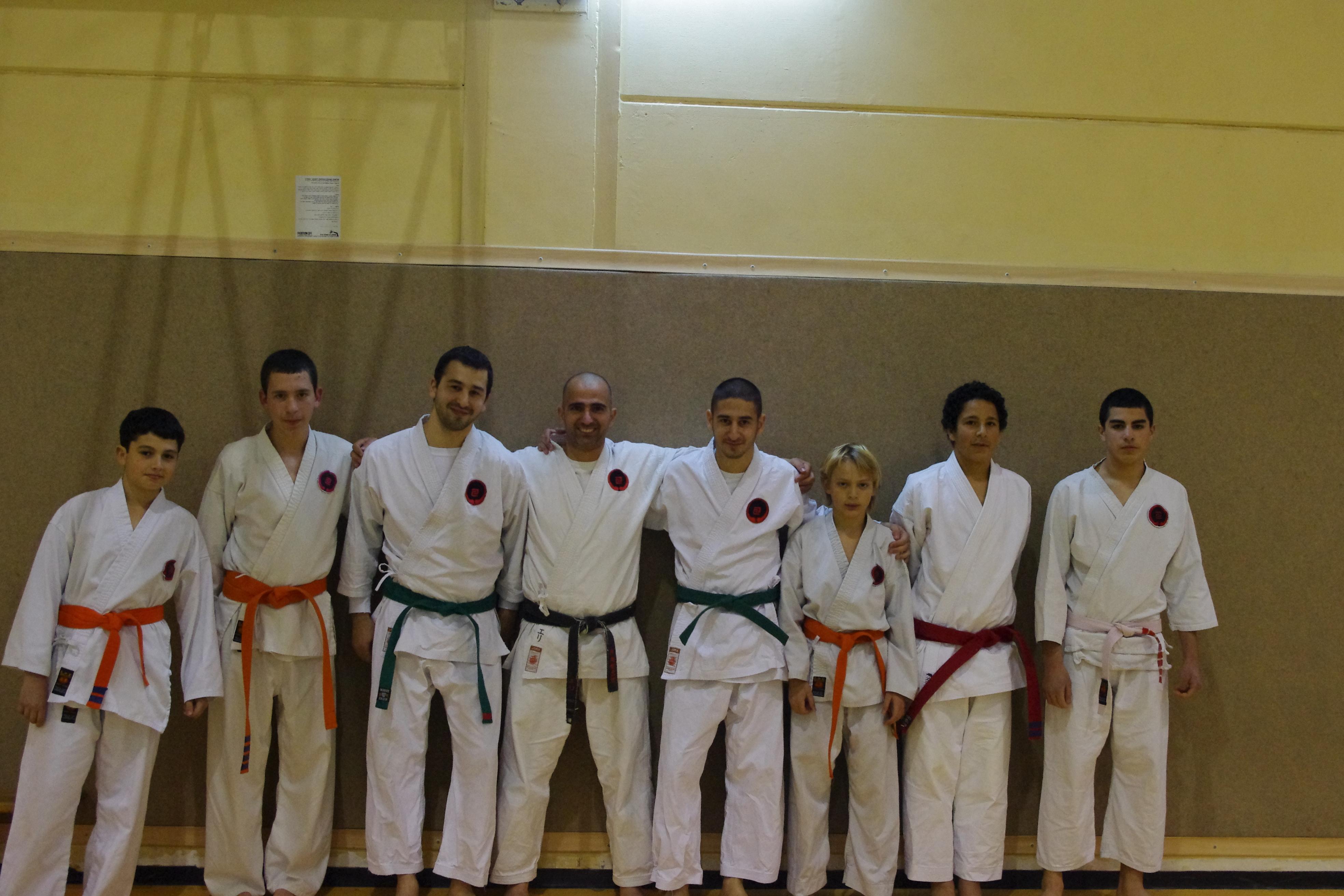 הקבוצה שלנו לאחר אימון