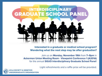 2018 SGUO Graduate School Panel