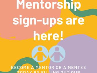 Mentorship Program Applications