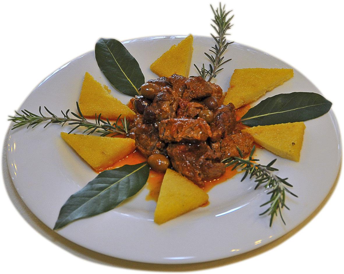cinghiale+in+umido+con+polenta