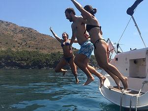 Chapuzón al mar _ Totavela