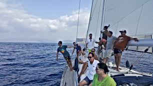 Tripulantes del velero _ Totavela