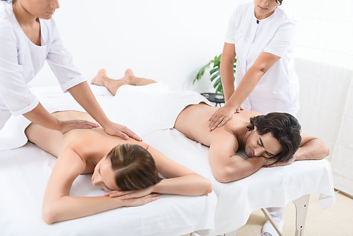 90 MIN COUPLES MASSAGE *with FREE aromatherapy upgrade