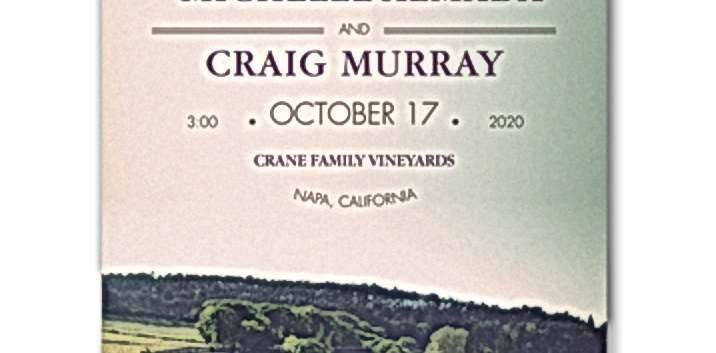 Wine Country Invitation