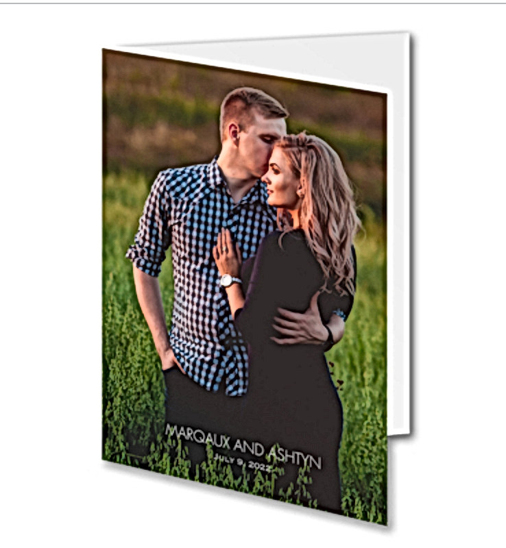 Picture Wedding Invitation