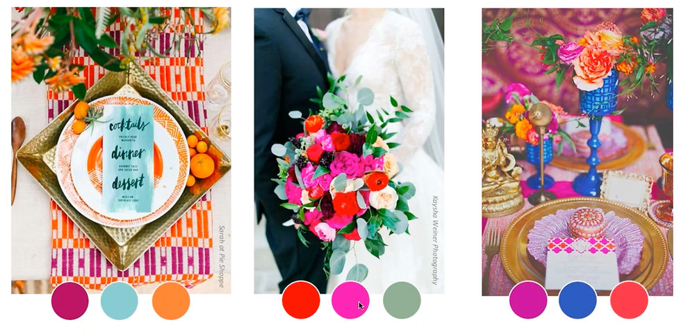 "Glossary of Wedding Flowers by Color- ""Bride's Magazine"""